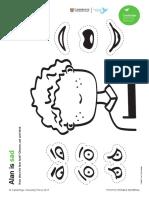 6 Pre-Primary Worksheets Emotions CLJ