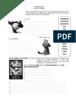 Kung Fu Panda - Comparatives