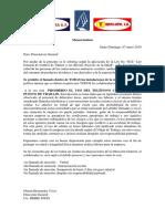 Memorandum Ley Del Fumado