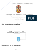 3 - Fundamentos Del Hardware y Software