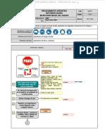 Material Procedimiento Operativo Inspeccion Inicial Motoniveladora Operaciones Mina Etapas Trabajo Riesgos Potenciales