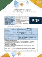 Guia de Actividades y Rùbrica de Evaluaciòn - Fase 1 ANTROPOLOGIA PSICOLOGICA