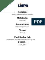 Antropología General Tarea 4