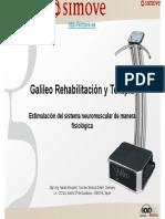 Plataforma Vibratoria Galileo. Rehabilitación y Terapia Neuromuscular - 2018 - AGG - Corta