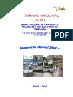 Memorial Anual 2007
