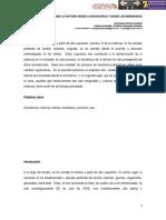 Narrando la historia desde la no-violencia y desde los marginados. Santiago Espitia Fajardo. Instituto de Bioética, Ponticia Universidad Javeriana (Bogotá, Colombia).