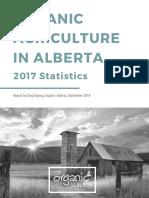 Organic Agriculture in Alberta 2017 Statistics