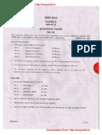 Download SSC CHSLE Descriptive Exam Paper 2 Held on 10-05-2015 Wwww.sscportal.in 0