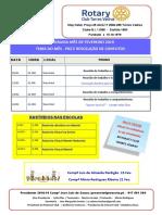 Programa Mês de Fevereiro 2019