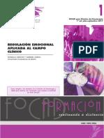 Regulación Emocional Aplicada a Clínica