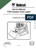 t750 bobcat service manual