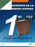 FORTALECIMIENTO DE LA COMPRENSIÓN LECTORA SECUNDARIA 1ER. GRADO.pdf