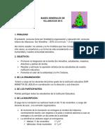 Bases Generales de Villancicos 2015
