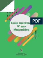 Teste 5_matematica_ 9 Ano