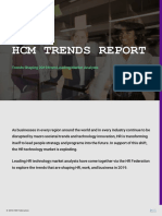 2019 Hcm Trends Report Hr Federation