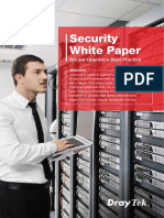 DrayTek White Paper Router Security Best Practice