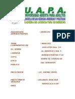 Analisis Comparativo de Las Leyes Nos. 14-91 y La 120-1