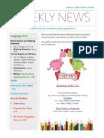 weekly newsletter-feb 4-feb 8