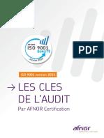 Les Clés de l'Audit ISO 9001 v2015