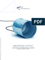 Telechoice International Limited Annual Report 2009