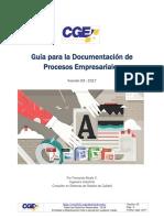 Guía Para La Documentación de Procesos Empresariales V3