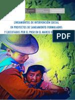 2. Lineamientos de Intervención Social en Proyectos de Saneamiento