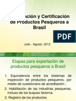 Certificación DIPOA. Brasil