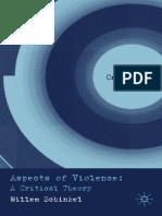 (Cultural Criminology) Willem Schinkel - Aspects of Violence_ a Critical Theory (Cultural Criminology)-Palgrave Macmillan (2010)