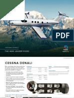Cessna Denali Product Card