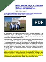 2019-01-30 Fumigar Escuelas Rurales Bajo El Discurso de Buenas Prácticas Agropecuarias