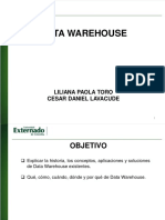 Data Warehouse Def