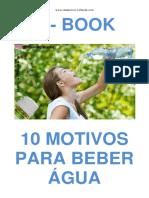 10 Motivos Para Beber Água