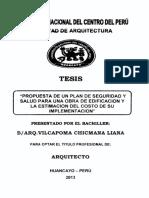 PROPUESTA DE UN PLAN DE SEGURIDAD Y SALUD PARA UNA OBRA DE EDIFICACION Y LA ESTIMACION DEL COSTO DE SU IMPLEMENTACION.pdf
