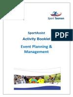 Event Planning Management-Activity Booklet