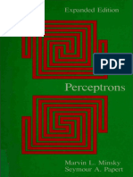 Marvin Minsky, Seymour a. Papert - Perceptrons_ an Introduction to Computational Geometry (1987, The MIT Press)