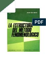 La Estructura Del Método Fenomenólogico (Completo)