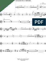 Adagio - Yanni - Trompete 1, 2