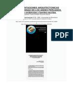 REPRESENTACIONES ARQUITECTONICAS PRECOLOMBINAS