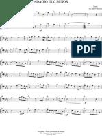 Adagio - Yanni - Violoncelo