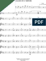 Adagio - Yanni - Contrabaixo