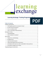 Learning Exchange Training Programmes Guide PDF (2018!08!27 04-20-05 UTC)