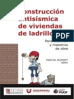 Construcción Antisísmica de Viviendas de Ladrillo PUCP - SENCICO