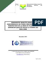 Rapport Diagnostic Qualite CORAF WECARD_vfDec2013