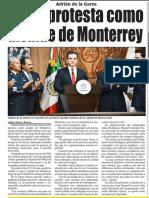 31-01-19 Toma protesta como alcalde de Monterrey