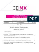 Modificaciones RCCDMX