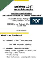 Insulators 101 July 2009