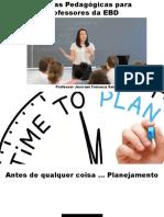 Práticas Pedagógicas para Professores da EBD