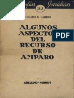 90. Carrio, Genaro R. - Algunos Aspectos del Recurso de Amparo.pdf