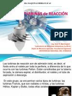 Turbinas de Reaccion -2018