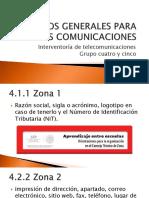 Aspectos Generales Para Las Comunicaciones